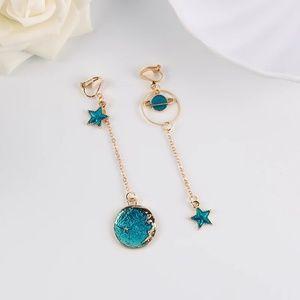 Jewelry - Moon Clip On Earrings